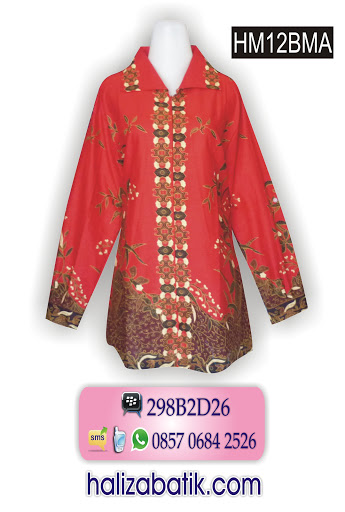 grosir batik pekalongan, butik batik, grosir baju batik murah, baju atasan batik