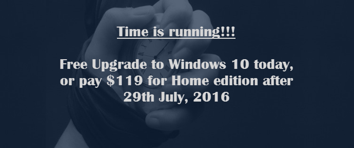 Upgrade to Windows 10 for free now, or pay $119 later to grab it (www.kunal-chowdhury.com)