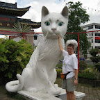 "Kuching means ""cat"""
