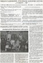 Photo: PPwA POLONEZ nr 1, strona 2.