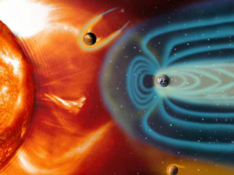 पृथ्वी चुंबकीय क्षेत्र के बारे में संपूर्ण माहिती | earth magnetic field in hindi