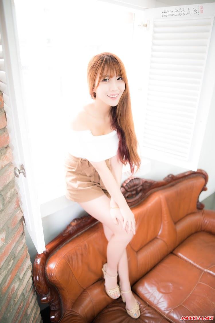 Cha Jung Ah gái xinh chân dài mông cong