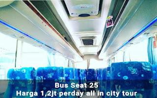 Bus Pariwisata Seat 25