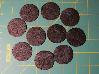 leather circles