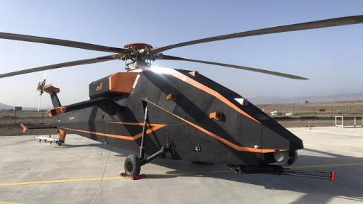 Helikopter Serang Listrik T-629 Buatan Turki