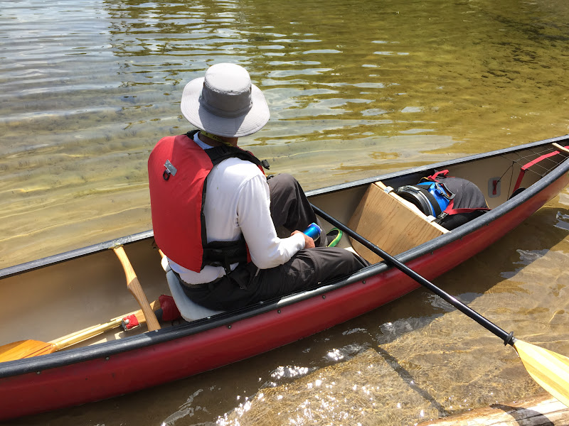 Canoe Paddle Blades : View topic double blade paddle for solo canoe canadian