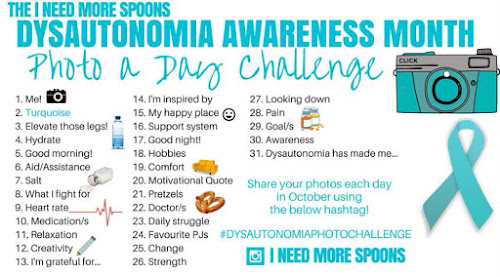 Dysautonomia awareness month photo challenge guide