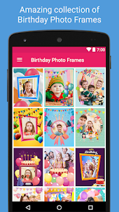 Download Birthday Photo Frames and Collage Maker For PC Windows and Mac apk screenshot 1