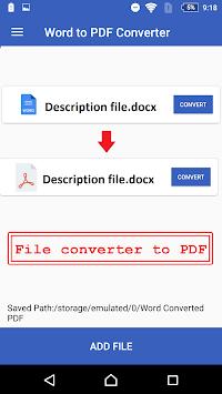 Download word to pdf converter pdf creator online apk latest word to pdf converter pdf creator online poster freerunsca Images