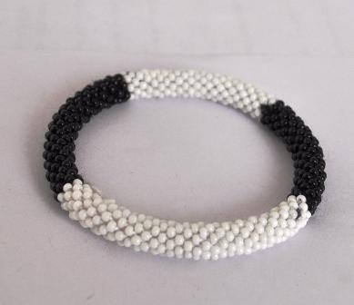 Rollover Glass Bead Nepal Bracelets