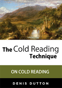 Cover of Denis Dutton's Book On Cold Reading