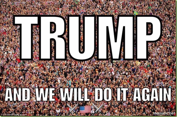 trump we will do it again