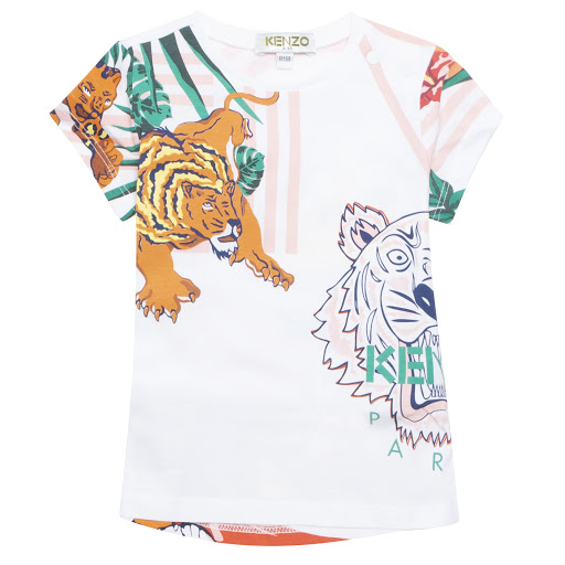 Primary image of Kenzo Kids Baby Faustine T-shirt