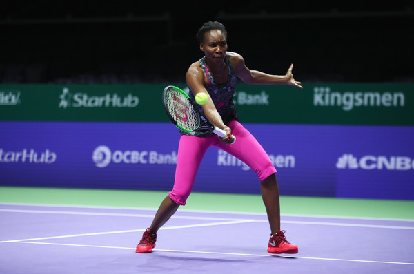 2d249cc0d3 Venus williams training. The best moments. Bnp Paribas wta finals Singapore  2017