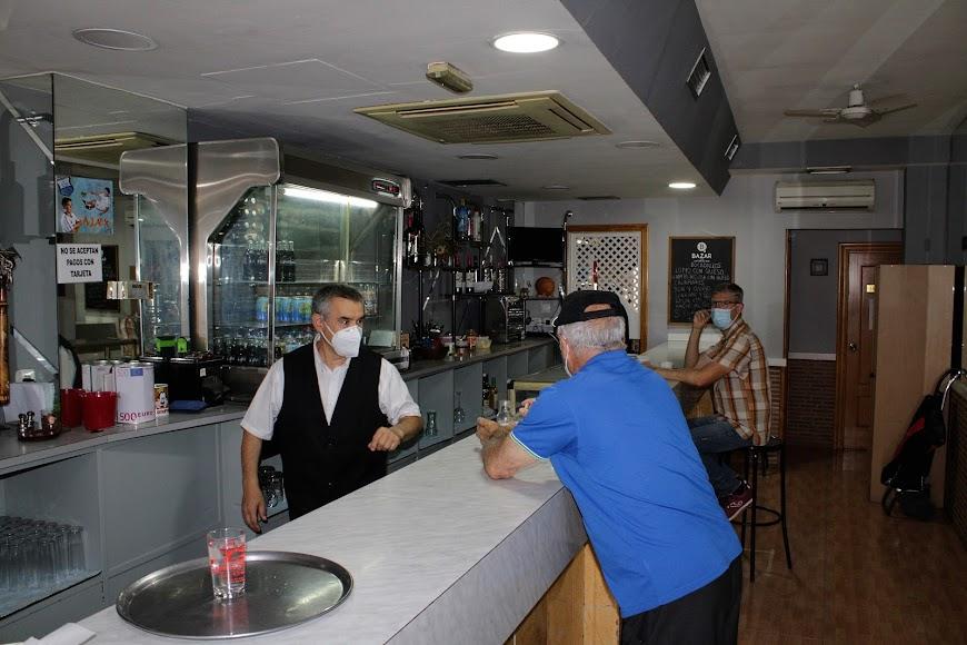 Cafetería Lisboa.