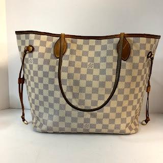 Louis Vuitton Damier Azur Neverfull Bag