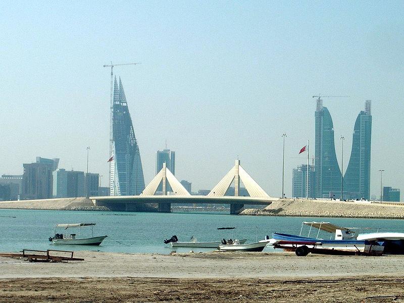 Bahrain - Manama skyline   (photo-picture4u.net)