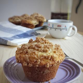 Coffee Cake Muffins.