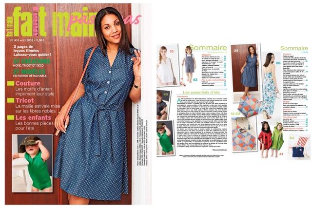 Magazine fait main août 2016