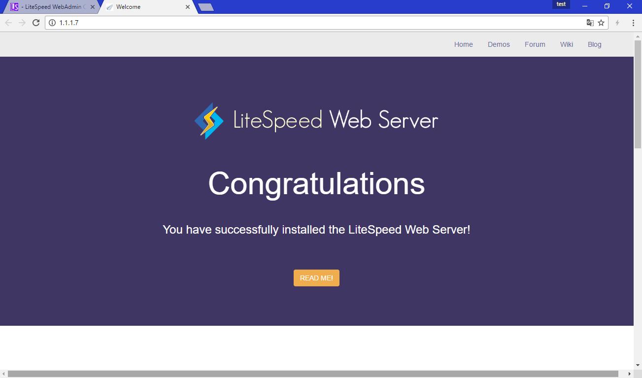 [L2MP – 1] Cài đặt Web Server Litespeed trên Red Hat CentOS 5 – Cài đặt Litespeed