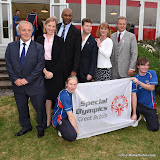 OIC - ENTSIMAGES.COM - Gordon Tayloy, Tracey Crouch, Colin Salmon, HIS EXCELLENCY MR MATTHEW BARZUN, SAMANTHA BOND and HUGH BONNEVILLE at the  Official Reception at US Ambassador's Regents Park Residence  for Special Olympics GB's World Games team London  20th July 2015 Photo Mobis Photos/OIC 0203 174 1069