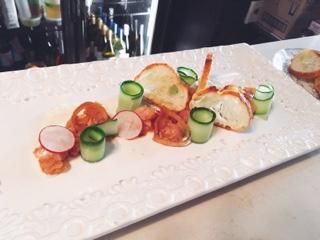 Furlough Toronto: tuna tartare