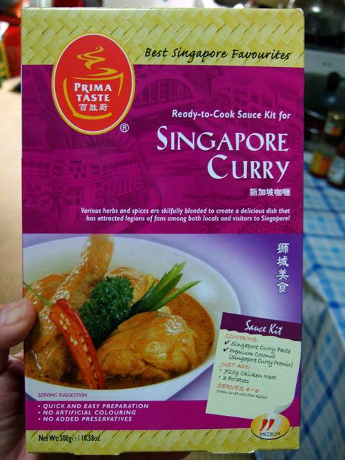 Prima Taste Singapore curry sauce