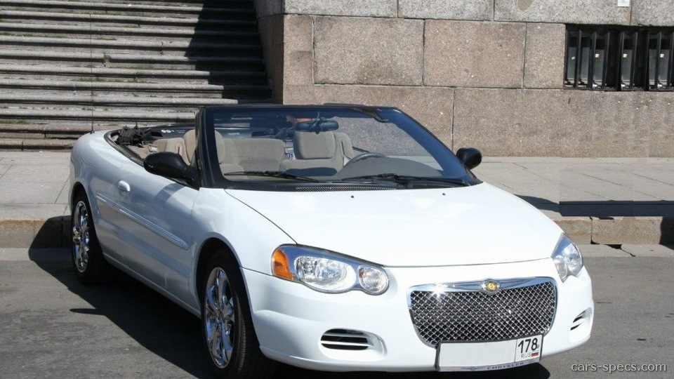 2003 Chrysler Sebring Convertible Specifications  Pictures