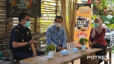 Bea Cukai Ajak Masyarakat Gempur Rokok Ilegal Lewat Jelita Show