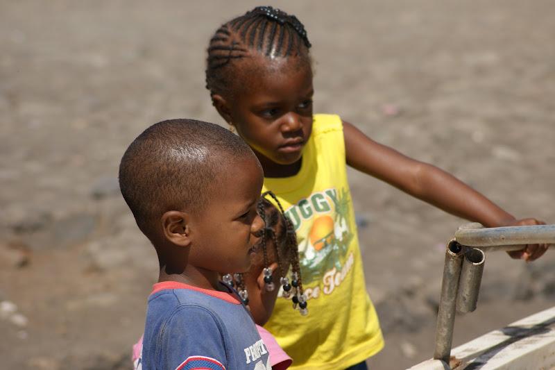 Crianças de Cabo Verde