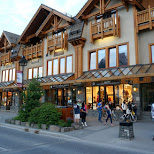 streets of Banff, Alberta in Calgary, Alberta, Canada