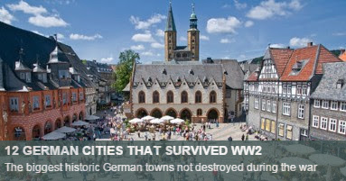German cities not bombed