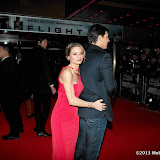 WWW.ENTSIMAGES.COM -  Charlotte Jackson and Chris Coleman  arriving at Flight UK Film Premier Empire Leicester Square London January 17th 2013                                                     Photo Mobis Photos/OIC 0203 174 1069