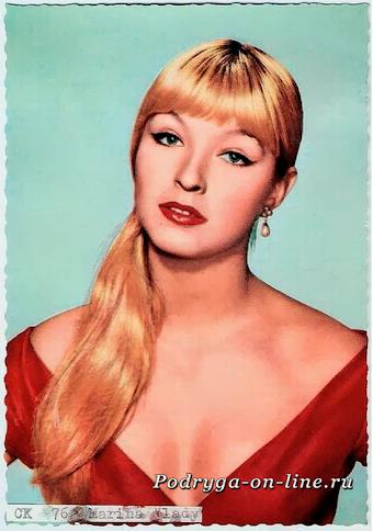Марина Влади/ 12 самых красивых и сексуальных актрис 20 века.