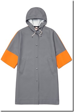 01 Stutterheim x Marni - Prefall 2017 Volume Coat Grey Orange White