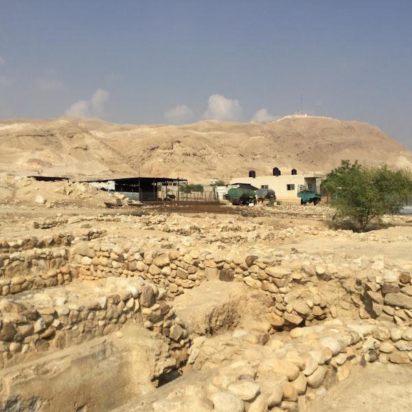 בנייה ערבית על סרידי ארמונות החשמונאים ביריחו
