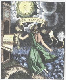 Frontispiece From Knorr Von Rosenroth Kabbala Denudata Sulzbach 1677, Alchemical And Hermetic Emblems 1