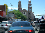 The streets of Juarez were packed- thriving.