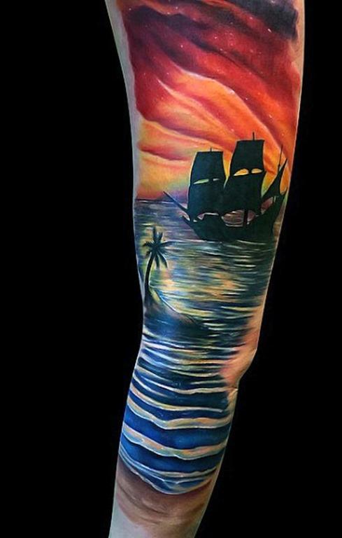 modelado_praia_de_manga_tatuagem