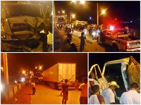 Motorista morre após caminhão bater em carreta em Uruará.