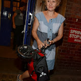 WWW.ENTSIMAGES.COM -   Niamh Cusack leaving     The Curious Incident of the Dog in the Night-Time at Apolo Theatre Shaftesbury Avenue - London August 6th 2013                    Photo Mobis Photos/OIC 0203 174 1069