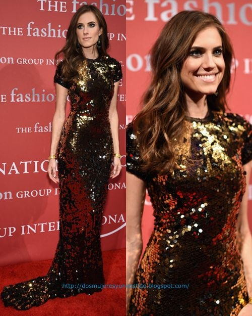 Allison Williams 2015 Fashion Group International