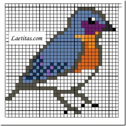 punto de cruz animales aves  (6)