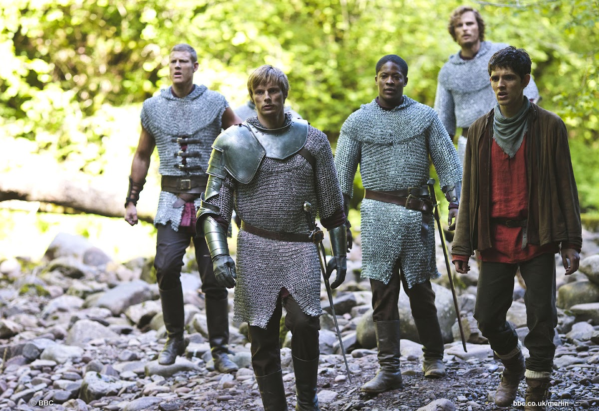 King Arthur, Merlin and the Knights of Camelot