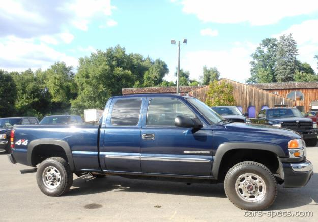 2005 gmc sierra 2500hd extended cab specifications pictures prices. Black Bedroom Furniture Sets. Home Design Ideas
