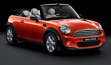 BMW Mini Auto convertible