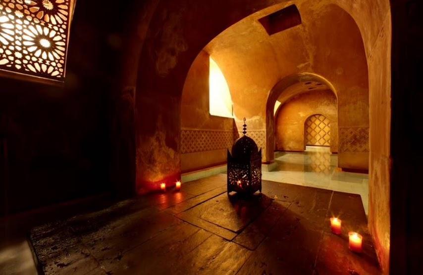 Sala agua caliente baños árabes