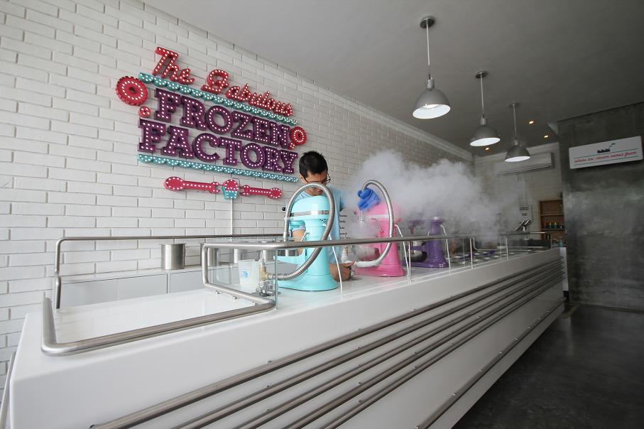 *極低溫現點現做冰淇淋:甜美風格小型冷凍工作臺! 5