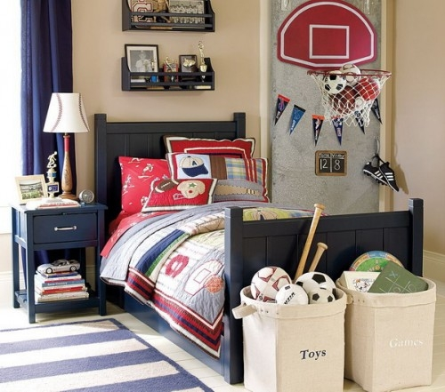 Sport themed bedroom home design fashion 2d for Fashion designer themed bedroom