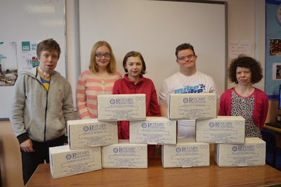 Students help the needy with Easter boxes